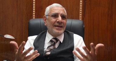 """أبو الفتوح يتهم برنامج الإخوان بـ""""الخلل"""""""