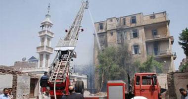 السيطرة على حريق داخل شقة فى المرج دون إصابات
