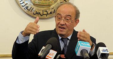 الدكتور أحمد البرعى، وزير القوى العاملة والهجرة