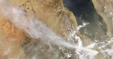 السحابة البركانية وصلت أبو سمبل - صورة أرشيفية