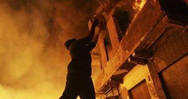 حريق بمخزن داخل مستشفى عين شمس التخصصى s62011303054.jpg