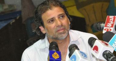 خالد يوسف يدعو للصمود أمام الاتحادية لإسقاط مرسى