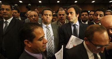 """جانب من جلسة لـ"""" تأسيسية الدستور"""""""