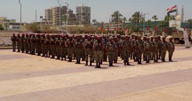 الجيش الثانى يرفع الاستعداد القصوى