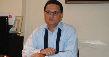 """الإعلامى شريف عامر المذيع بقناة """"الحياة"""""""