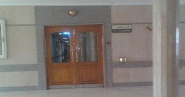 جناح مبارك فى مستشفى المعادى العسكرى