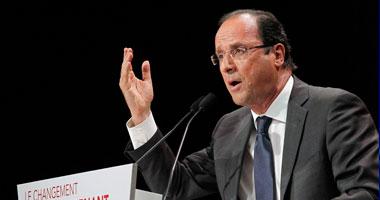 الرئيس الفرنسى: لن نشارك فى الحرب ضد داعش خارج العراق