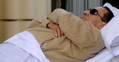اخبار صحة مبارك فى سجن