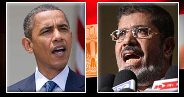 مرسى وأوباما