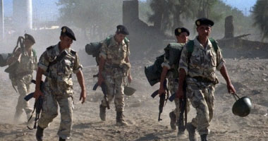 قوات الجيش الجزائرى