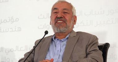 راشد الغنوشى زعيم حركة النهضة الإسلامية بتونس