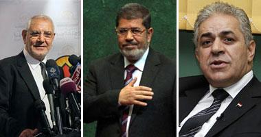 """""""مرسى"""" و""""صباحى"""" و""""أبو الفتوح"""" يتفقون على إعادة محاكمة مبارك والتظاهر لحين تطبيق قانون العزل قبل جولة الإعادة.. والجميع يؤكدون مشاركتهم فى مليونية غداً s620123165423.jpg"""