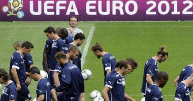 Euro 2012 إيطاليا تتخلى عن الحذر الدفاعى وتوريس يقود هجوم إسبانيا