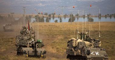 آليات عسكرية إسرائيلية – أرشيفية