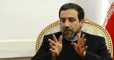 كبير المفاوضين الإيرانيين فى الملف النووى عباس عراقجى
