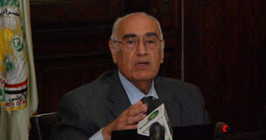 وصول وزير الزراعة مؤتمر الحملة القومية بمخاطر التعدى على الأراضى