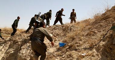 مقتل مسلحين اثنين من داعش فى هجوم انتحارى بمدينة بيجى العراقية