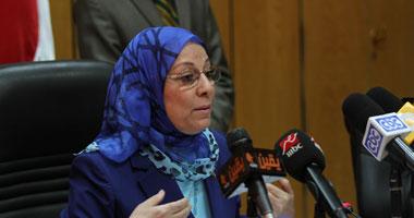 """وزيرة القوى العاملة والهجرة: ترحيل الراقصة صافيناز ليس بسبب ارتدائها """"بدلة"""" رقص بعلم مصر"""