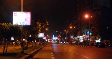 احترس.. حواجز حديدية فى محيط تحويلات شارع جامعة الدول العربية