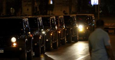 بالفيديو والصور .. قوات الانتشار السريع تصل مصطفى محمود بعد ورود بلاغ بوجود قنبلة