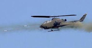 طيران الاحتلال الإسرائيلى يقصف موقعا جنوب قطاع غزة