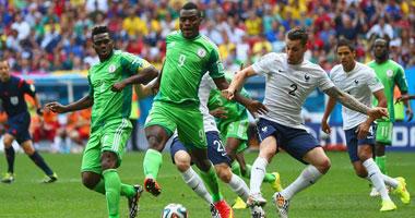 | بعد 15 دقيقة.. تعادل سلبى بين فرنسا ونيجيريا
