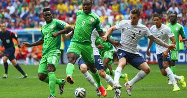 | إلغاء هدف لنيجيريا أمام فرنسا بعد مرور 30 دقيقة