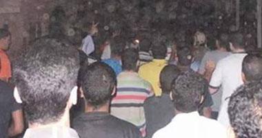 تفريق مسيرة إخوانية محدودة بحلوان دون سقوط إصابات S620144213227