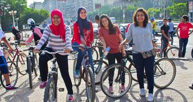 فريق بايك زون ينظم سباقًا بالدراجات إلى مصر الجديدة..اليوم