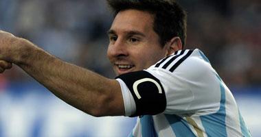 ميسى بقميص الأرجنتين