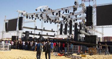 المكان المخصص لإقامة حفلة عمرو دياب بمارينا شهر أغسطس
