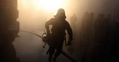 حريق بمسجد تحت الإنشاء بالوادى الجديد  S7201028125838
