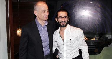 إفتتاح كافية ومطعم praecingo للممثل احمد حلمي