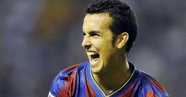 بيدرو لاعب برشلونة الأسبانى