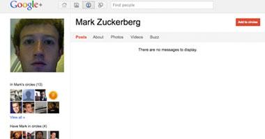 مارك زوكربيرج مؤسس الفيس بوك ينشئ حسابا على