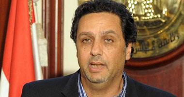 الناشط السياسى حازم عبد العظيم