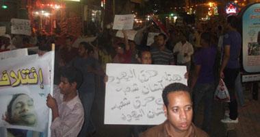 متظاهرو الأقصر يرفضون استمرار العيسوى