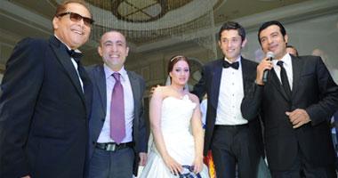 حفل زفاف كريم محمود عبد العزيز