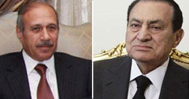 المخلوع مبارك ووزير داخليته حبيب العادلى