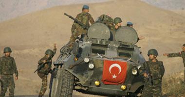القوات التركية تقصف مناطق فى عفرين بشمال سوريا