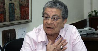 أمينة شفيق: المرأة المصرية نزلت فى 30 يونيو  دون طلب خوفا على بلدها