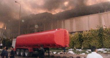 حريق هائل بمصنع لصناعة الزجاج بالقليوبية دون إصابات s720114114755.jpg