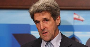 وزير الخارجية الأمريكى جون كيرى