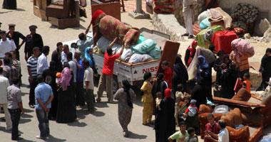 اشتباكات الدويقة تسفر عن تسكين 96 أسرة بالمساكن المغتصبة s720114141730.jpg