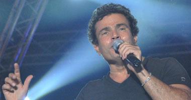 انتهاء الفنان عمرو دياب من اغنيته (مابقتش عايزك) للالبوم الجديد