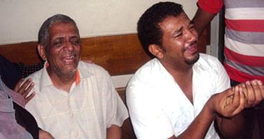 """والد وشقيق أحمد أثناء حديثه لـ""""اليوم السابع"""""""
