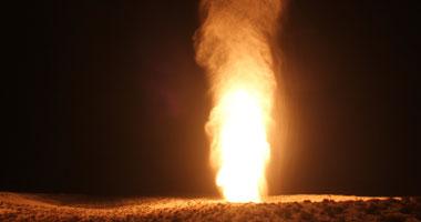 للمرة الـ26.. تفجير خط الغاز جنوب شرق العريش بشمال سيناء