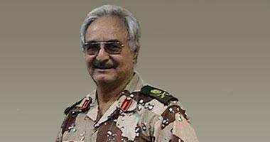 اللواء الليبى المتقاعد خليفة حفتر