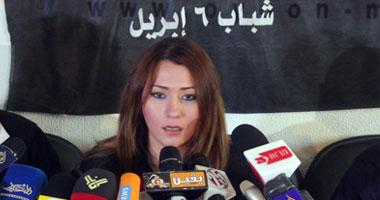 إنجى حمدى عضو المكتب السياسى بحركة 6 إبريل