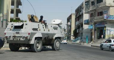 تواصل إغلاق 3 ميادين رئيسية بشمال سيناء
